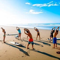 Vajra Sol Yoga Retreats with Surf and SUP (Stand Up Paddleboard)