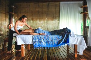 Spa Treatments by the sea at Santa Teresa; the definition of paradise